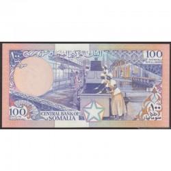 1989 - Somalia  Pic  35d       100 Shillings banknote
