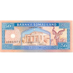 1994 - Somaliandia pic 4 billete de 50 Shillings