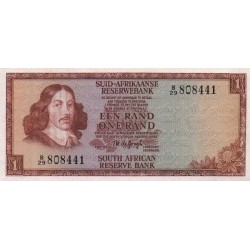 1973 - South Africa  Pic   116a     1 Rand banknote