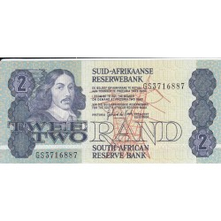 1981 - South Africa  Pic   118b    2 Rand banknote