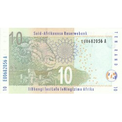 1999 - South Africa  Pic   123b     10 Rand banknote