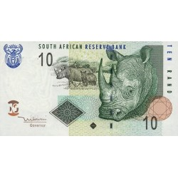 2005 - South Africa  Pic   128a     10 Rand banknote