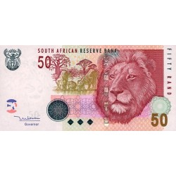 2005 - South Africa  Pic   130a     50 Rand banknote