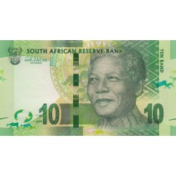 2012 - South Africa  Pic   133    10 Rand banknote
