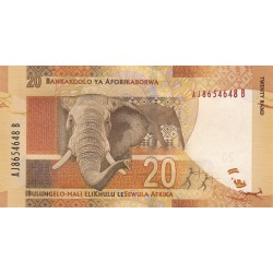 2012 - South Africa  Pic   134    20 Rand banknote