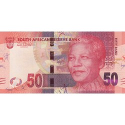 2012 - South Africa  Pic   135    50 Rand banknote