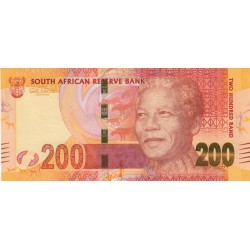 2012 - South Africa  Pic   137    200 Rand banknote