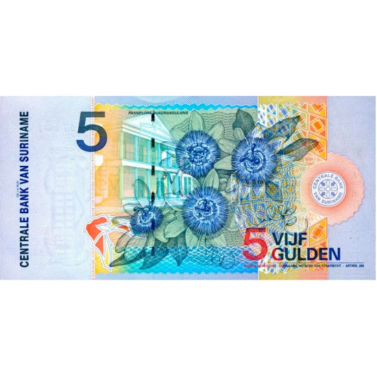 Serie 04 - Suriname 4 Banknotes