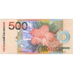 2000 - Suriname P150 500 Gulden banknote
