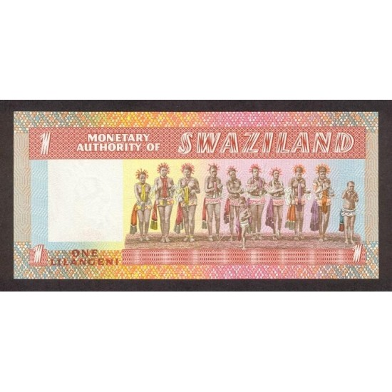 1974 - Swaziland  Pic 1          1 Lilangeli banknote