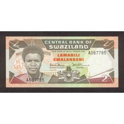 1987 - Swaziland  Pic 13          10 Lilangeli banknote