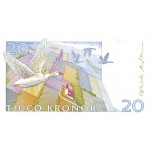 1991 -  Sweden  Pic  61a       20 Kronor banknote