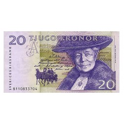 2006 -  Sweden  Pic  63c       20 Kronor banknote