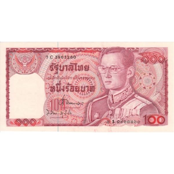 1978 - Tailandia   Pic  89     billete de 100 Bath