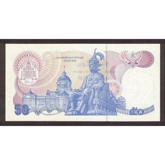 1985 - Thailand  Pic  90b      50 Bath banknote