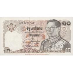 1995 - Thailand  Pic  98      10 Bath banknote