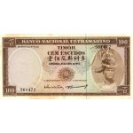 1967 - Timor   Pic  28    billete de 100 Escudos