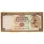 1967 - Timor   Pic  28            100 Escudos banknote