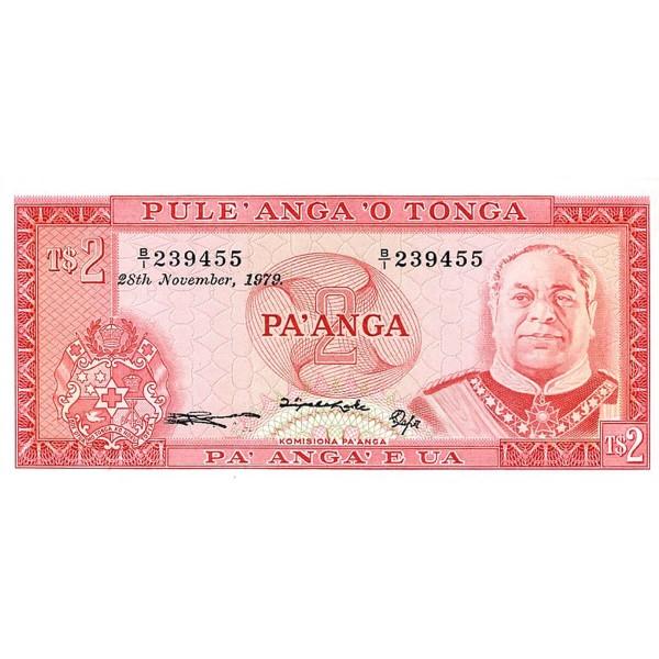 1978 - Tonga P20b CS1 2 Pa´anga banknote