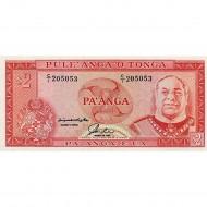1992/95 - Tonga  P26 2 Pa´anga banknote