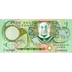 1995 - Tonga P31a 1 Pa´anga banknote