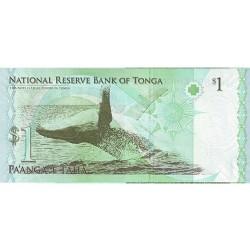 2008 - Tonga P37 1 Pa´anga banknote
