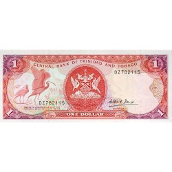 1985 - Trinidad y Tobago  Pic  36a      1 Dollar banknote