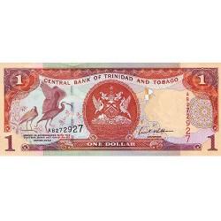 2002 - Trinidad y Tobago  Pic  41b      1 Dollar banknote
