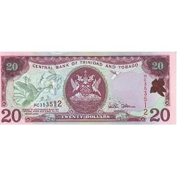 2002 - Trinidad y Tobago  Pic  44 b      20 Dollars   banknote