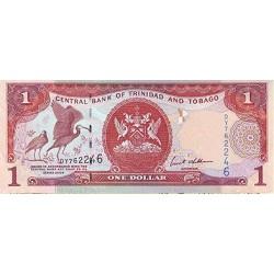 2006 - Trinidad y Tobago  Pic  46      1 Dollar   banknote