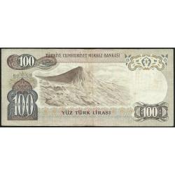 1971 - Turkey   Pic  191              1.000 Liras  banknote