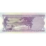 1968 - Turkey   Pic  179               5 Liras  banknote