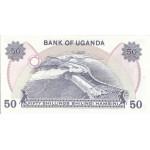 1979 - Uganda PIC 13b   50 Shillins banknote