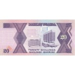 1988 - Uganda PIC 29b   20 Shillins banknote