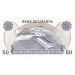 1973 - Uganda PIC 8c   50 Shillins banknote   F1