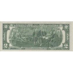 1976 K- United States P461k 2 Dollars banknote