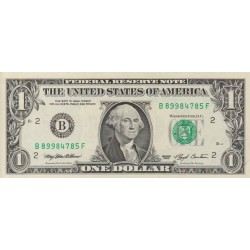 1993 - United States P490 B 1 Dollar banknote