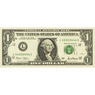 2001 - United States P509 L 1 Dollar banknote