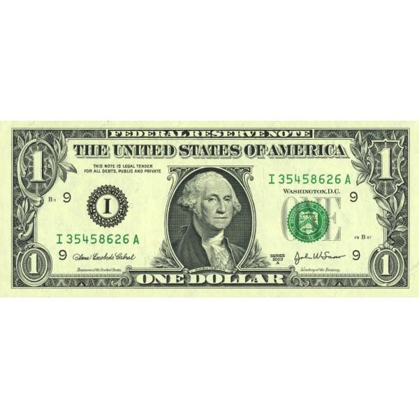 2003 - United States P515b F 1 Dollar banknote