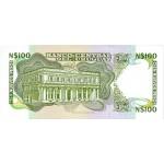 1987 - Uruguay P62A 100 Nuevos Pesos  banknote