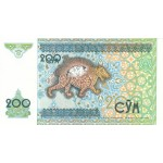 1997 - Uzbekistan pic 80  billete de 200 Sum