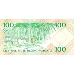1982 - Vanuatu P1 100 Vatu banknote