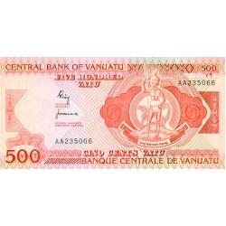 1982 - Vanuatu P2 500 Vatu banknote