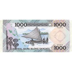 1982 - Vanuatu P3 1,000 Vatu banknote
