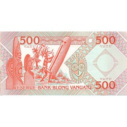 2006 - Vanuatu P5 500 Vatu banknote
