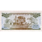 1991 -   Viet Nam   Pic 105b  100 Dong banknote