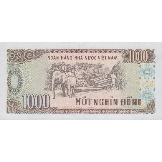 1988 -   Viet Nam   Pic 106a  1000 Dong banknote
