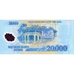 2006 -   Viet Nam   Pic 120a  20000 Dong banknote