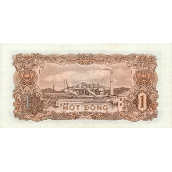1976 -   Viet Nam   Pic 80      1 Dong banknote