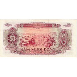 1976 -   Viet Nam   Pic 84a    50 Dong banknote